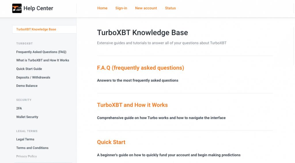 Turboxbt help center - turboxbt review