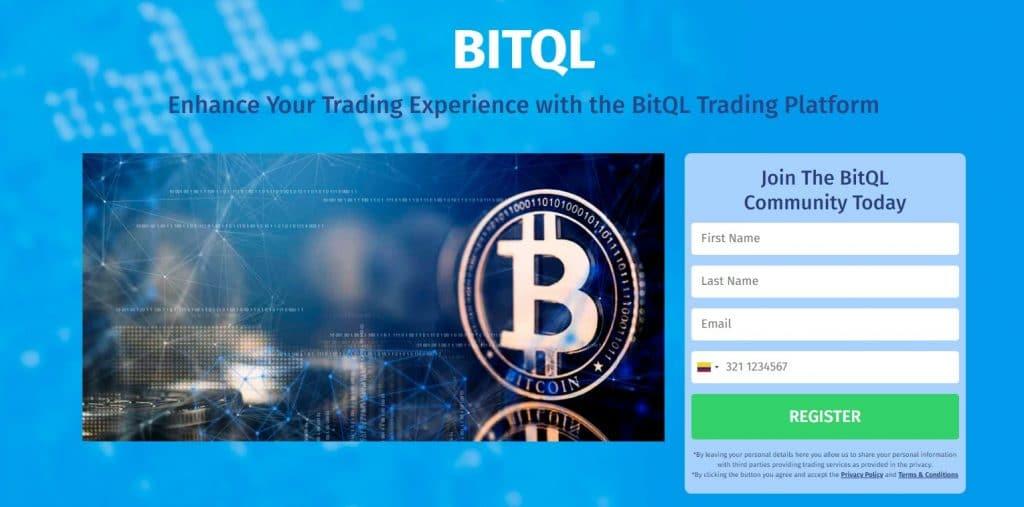 bitql homepage