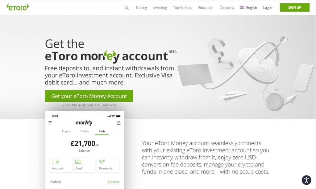etoro money