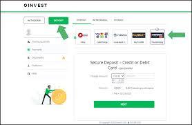 Oinvest Deposit